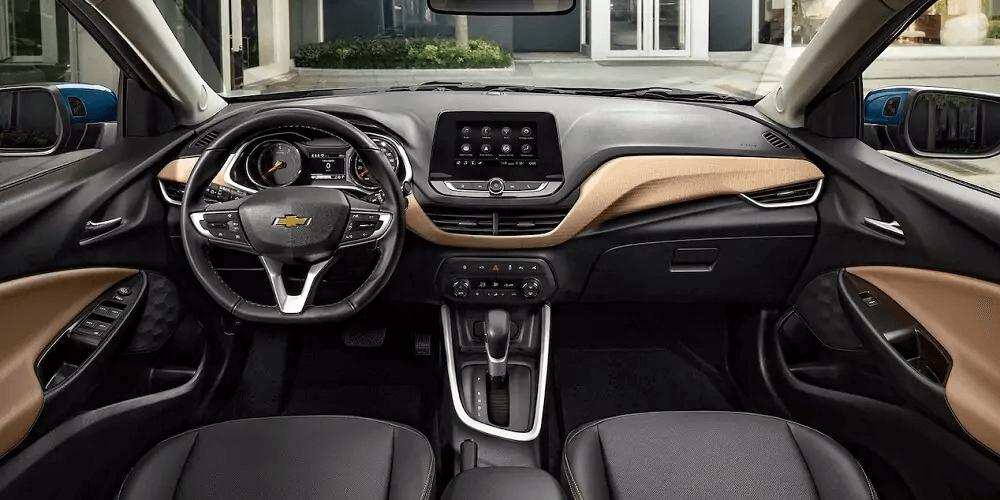 Chevrolet Onix 2021 visão painel