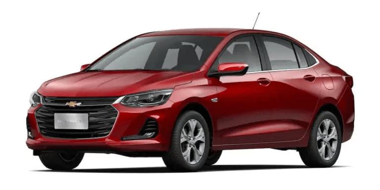 Chevrolet onix 2021 Lateral esquerda