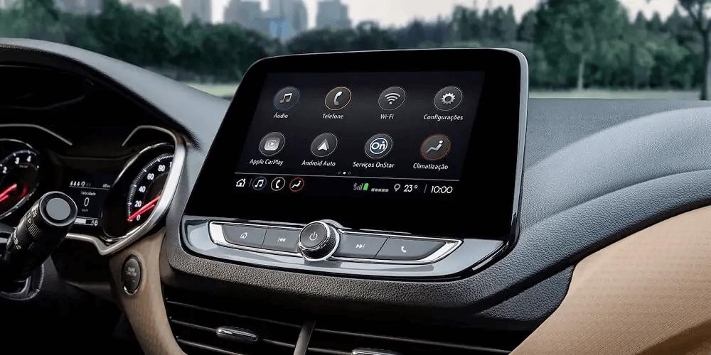 Chevrolet onix 2021 central multimídia
