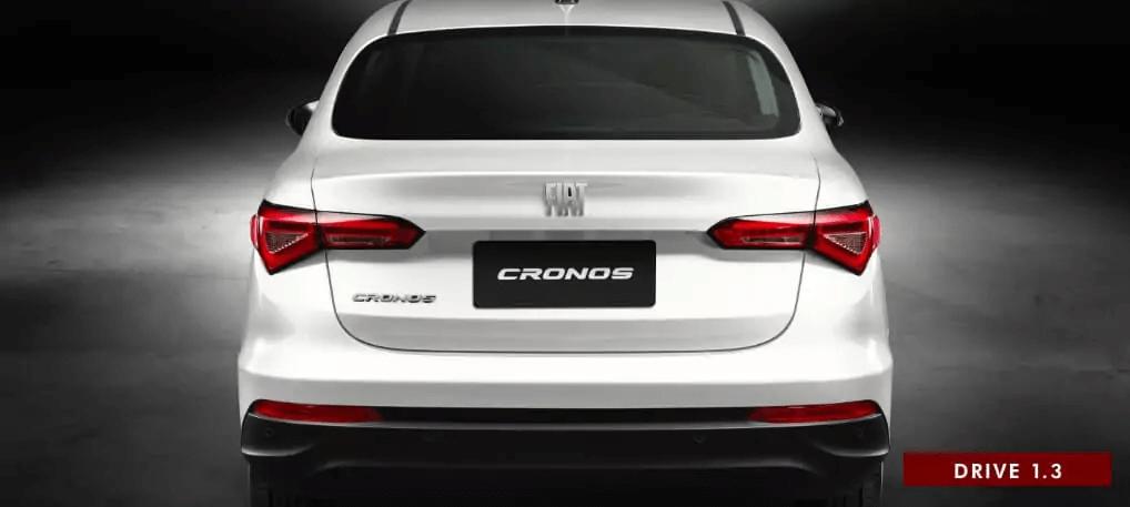 FIAT Cronos 2021 traseira