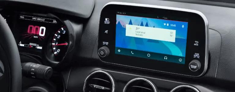 FIAT Cronos 2021 visão painel