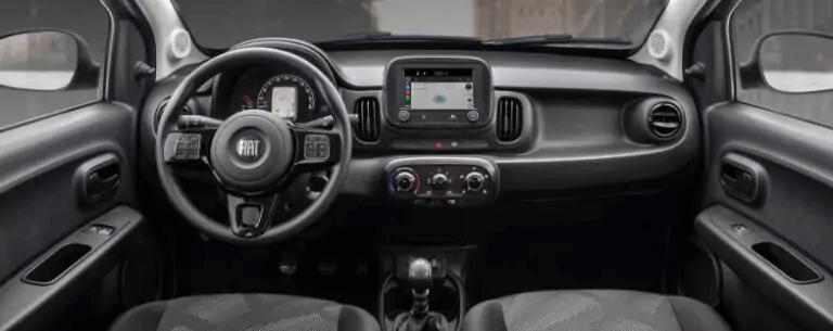 Fiat Mobi 2021 visão painel