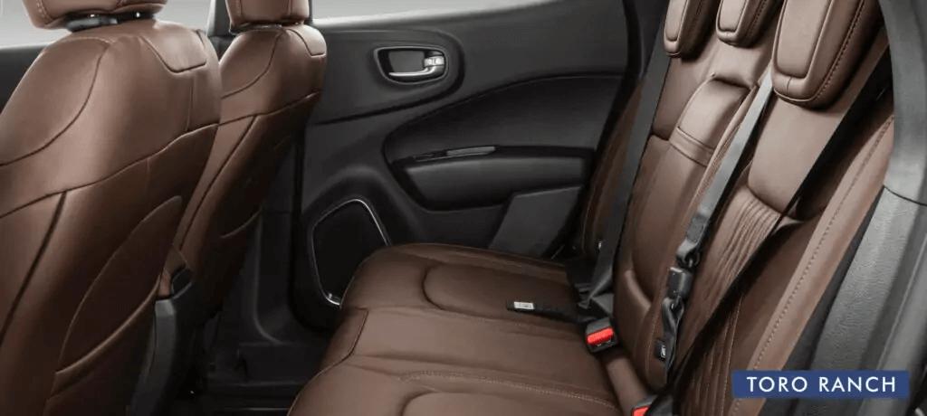 Fiat Toro 2021 interior