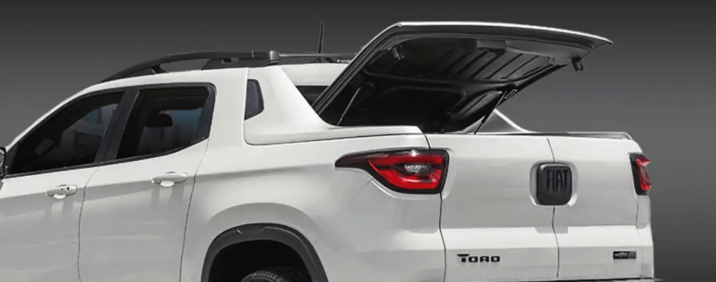 Fiat Toro 2021 traseira tampa da cacamba