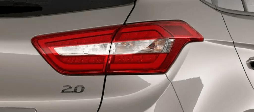 Hyundai Creta 2021 lanterna traseira