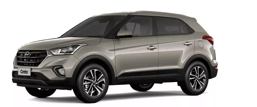 Hyundai Creta 2021 lateral esquerda