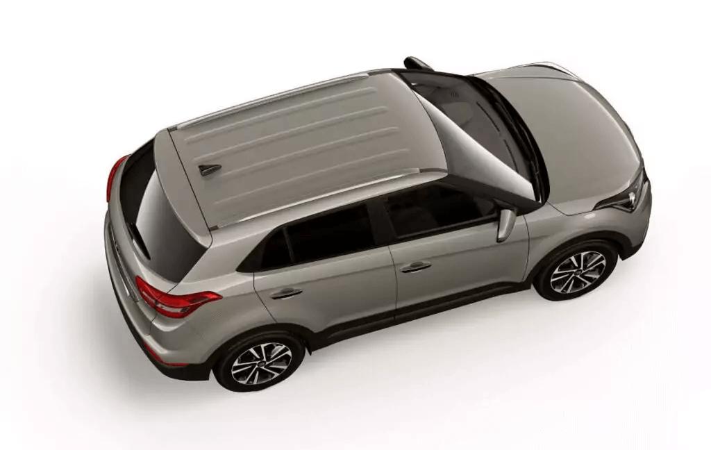 Hyundai Creta 2021 parte de cima