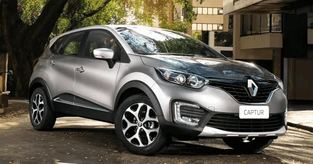 Renault Captur 2021 frente direita