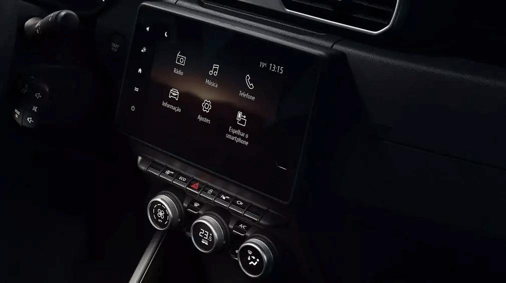 Renault Captur 2021 multimidia