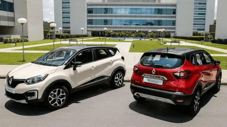 Renault Captur 2021 versoes