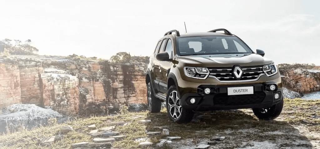 Renault Duster 2021 frente direita