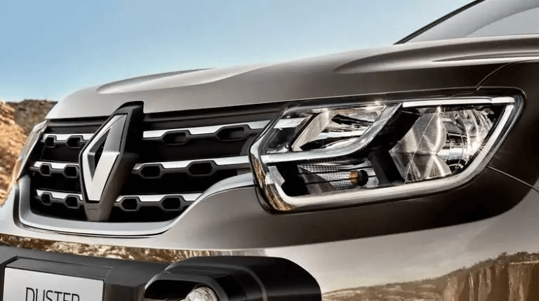 Renault Duster 2021 grade dianteira