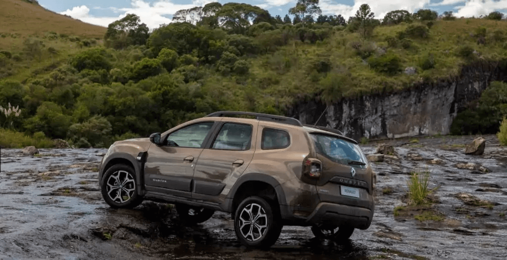 Renault Duster 2021 lateral esquerda