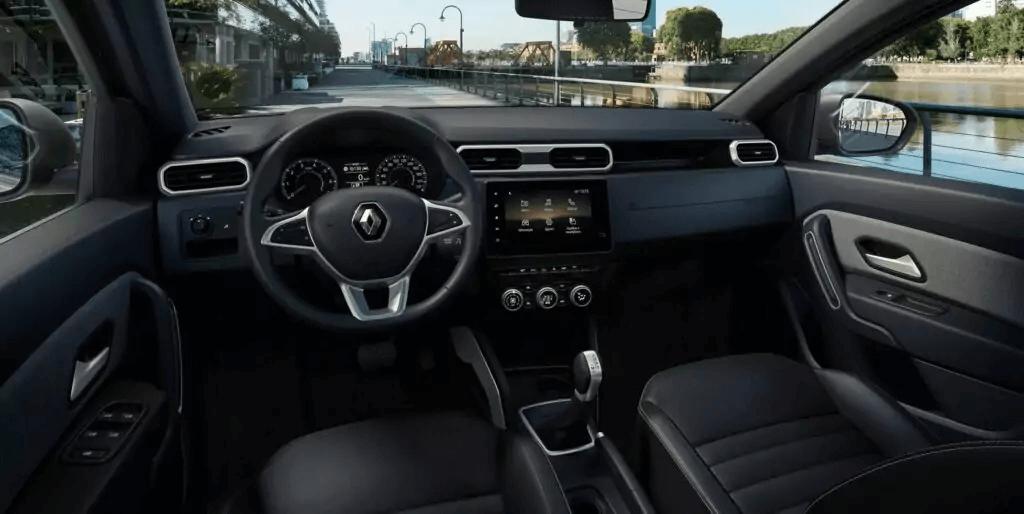 Renault Duster 2021 visão motorista