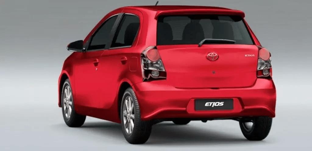 Toyota Etios 2021 Traseira