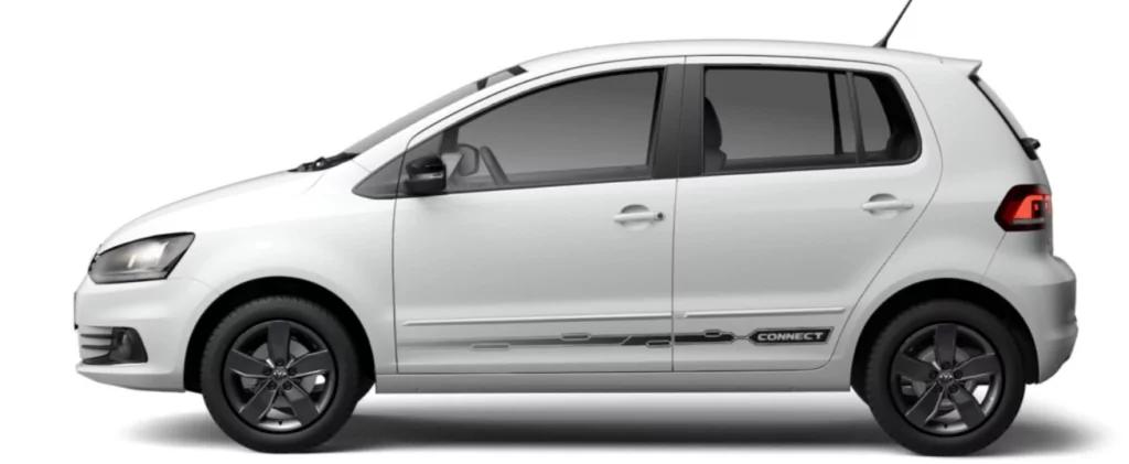 VW FOX 2021 lateral esquerda