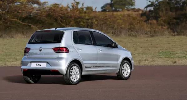 VW FOX 2021 traseira direita