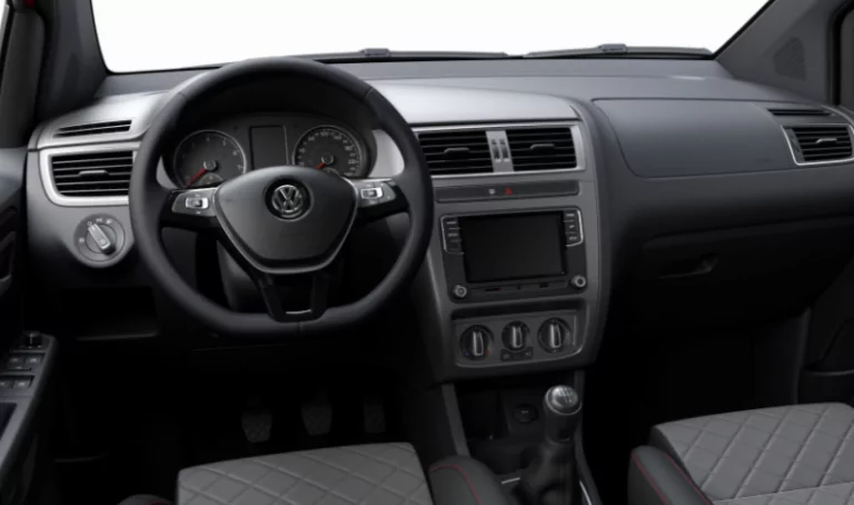 VW FOX 2021 visão painel