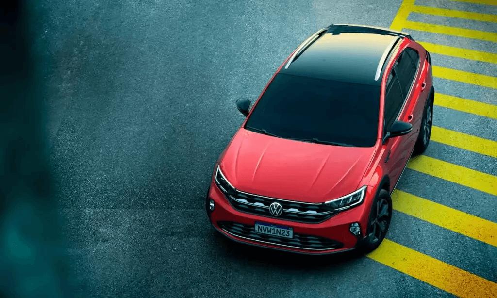 VW Nivus 2021 visão cima