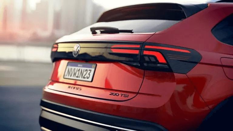VW Nivus 2021lanternas traseiras