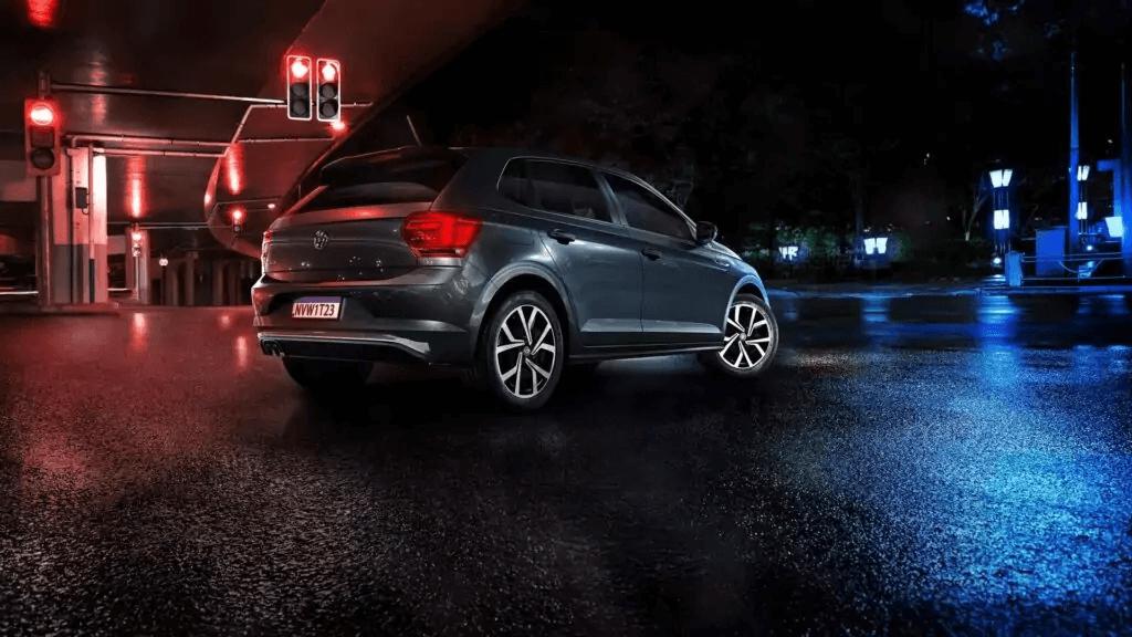 VW Polo 2021 lateral traseira