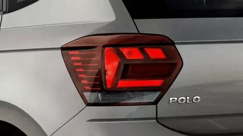 VW Polo 2021 laternas traseiras