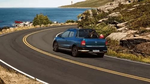 VW Saveiro 2021 traseira direita