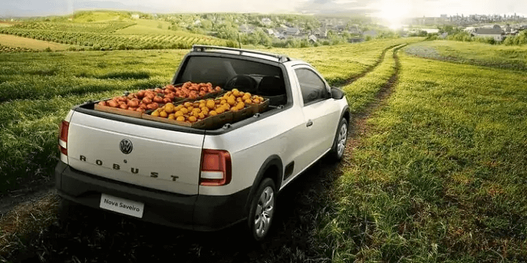 VW Saveiro 2021 traseira