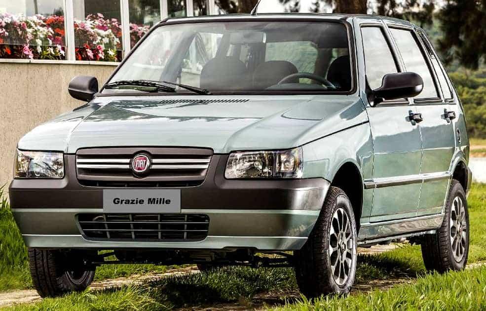 fiat-uno-mille-usado Melhores Carros até 10 mil
